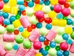 Mixed plastic beads<br>Summer color mix<br>2 pounds for