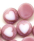 Glass cabochons<br>8mm with flat back<br>1 gross for