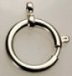 Sterling Plated<br>21mm<br> Spring Ring<br>12 Pieces For