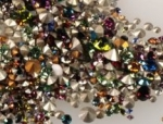 Swarovski Chaton Pearl Plate Mixture<br>1 ounce pack (30.5 grams) for
